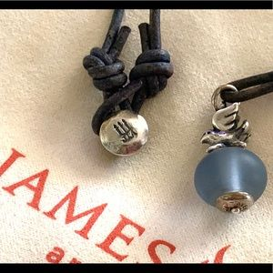 James Avery DOVE 🕊 retired finial bead necklace